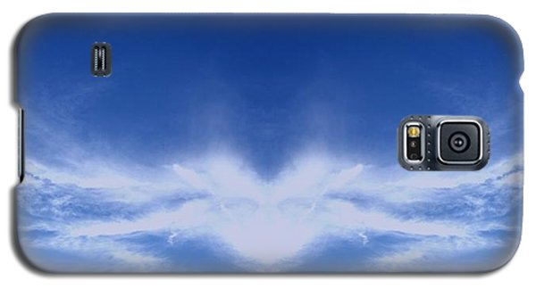 Religious Galaxy S5 Case - Heart Cloud by Kimberly  W