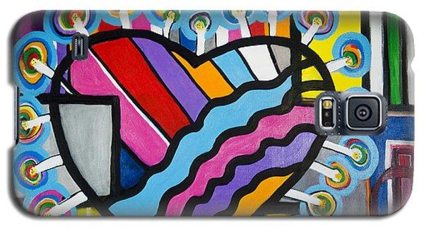 Heart Galaxy S5 Case by Jose Rojas