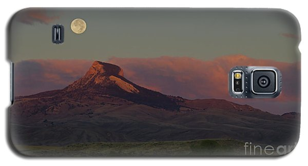 Heart Mountain And Full Moon-signed-#0273  #0273 Galaxy S5 Case