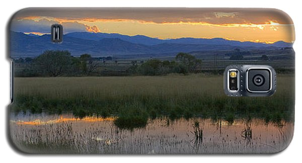 Heart Mountain Sunset Galaxy S5 Case