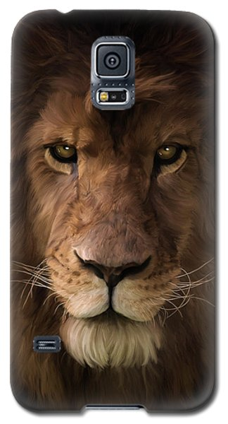 Heart Of A Lion - Wildlife Art Galaxy S5 Case
