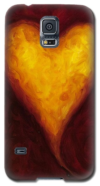 Heart Of Gold 1 Galaxy S5 Case