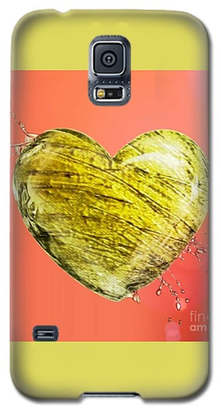 Heart Of Gold Galaxy S5 Case