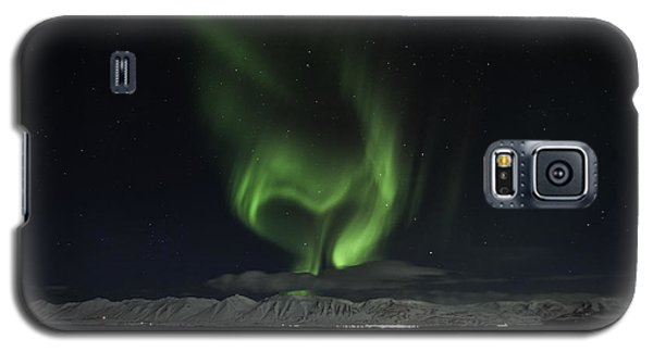Heart Of Northern Lights Galaxy S5 Case by Frodi Brinks