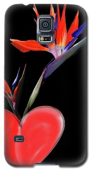 Heart  Of Paradise Galaxy S5 Case