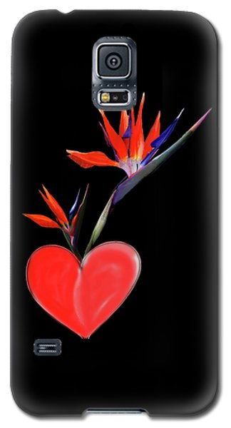 Heart  Of Paradise Galaxy S5 Case