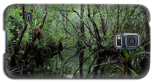 Heart Of The Swamp Galaxy S5 Case by Barbara Bowen