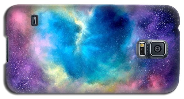 Heart Of The Universe Galaxy S5 Case by Sally Seago