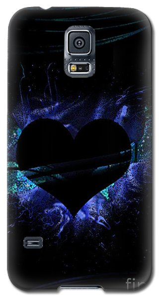 Heart On Fire Galaxy S5 Case