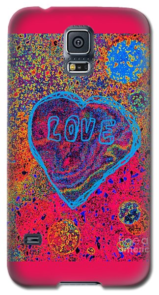 Heart On The Stage Galaxy S5 Case