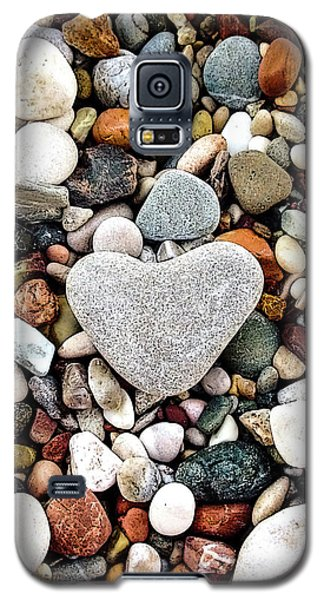 Heart-shaped Stone Galaxy S5 Case