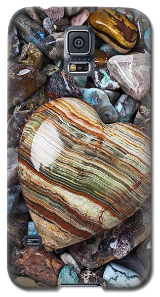 Heart Stone Galaxy S5 Case