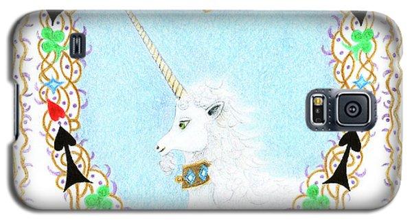 Heart With Unicorn Galaxy S5 Case