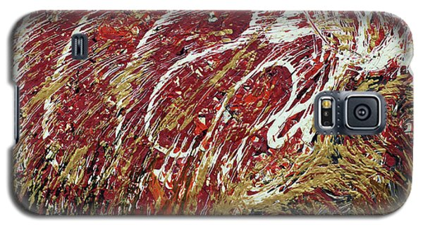 Galaxy S5 Case featuring the painting Heartbeat by Cathy Beharriell