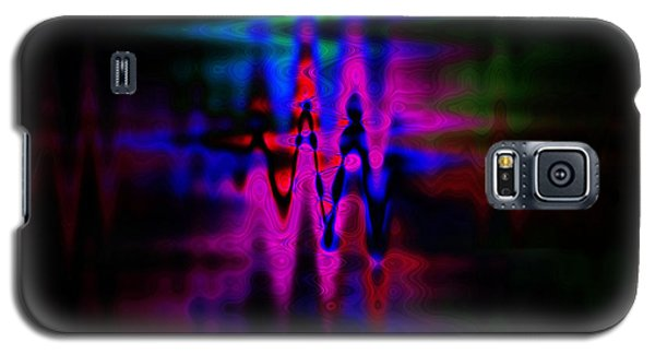 Heartbeat Galaxy S5 Case by Cherie Duran