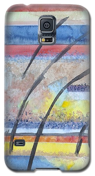 Galaxy S5 Case featuring the painting Heartbeat by Jacqueline Athmann
