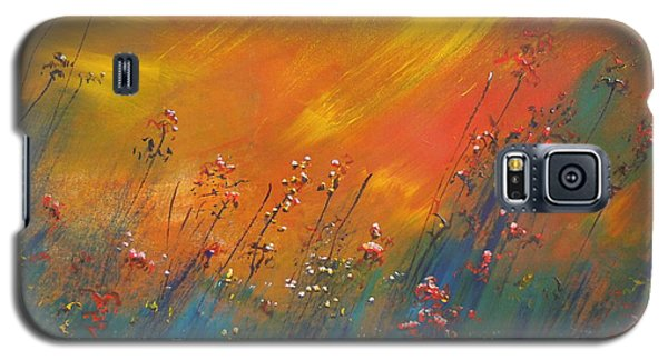 Galaxy S5 Case featuring the painting Heartland  by Dan Whittemore