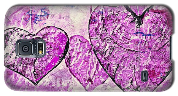 Hearts Abstract Galaxy S5 Case