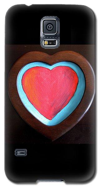 Hearts Afire Galaxy S5 Case
