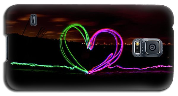 Hearts In The Night Galaxy S5 Case