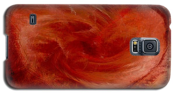 Hearts Of Fire Galaxy S5 Case by Linda Sannuti