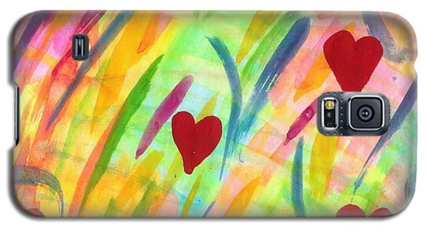 heARTs of Spring Galaxy S5 Case