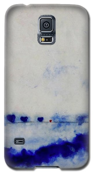 Hearts On A Wire Galaxy S5 Case by Kim Nelson