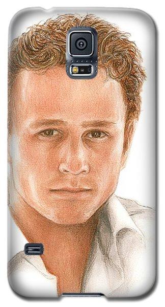 Heath Ledger Galaxy S5 Case - Heath by Bruce Lennon