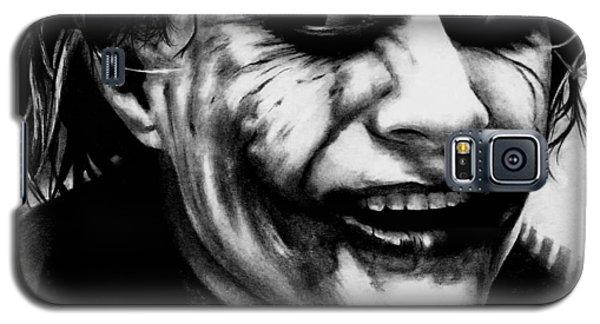 Heath Ledger Galaxy S5 Case - Heath Ledger Joker by Rick Fortson