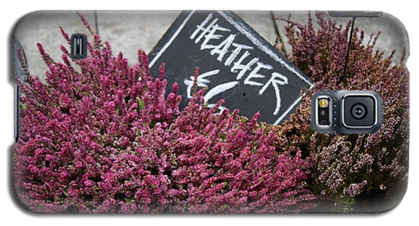 Heather Galaxy S5 Case