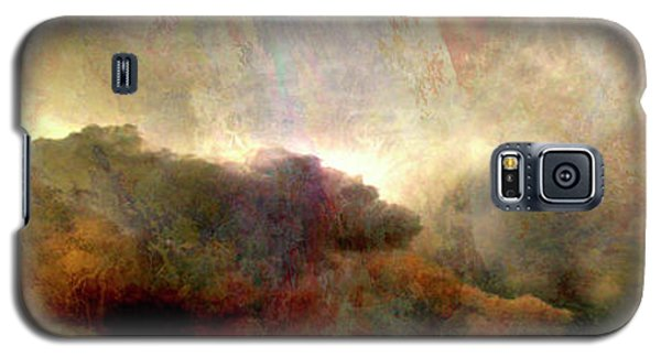 Heaven And Earth - Abstract Art Galaxy S5 Case