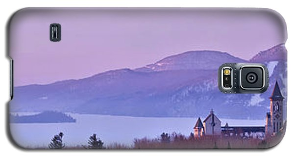 Galaxy S5 Case featuring the photograph Heavenly Alpenglow by Sebastien Coursol