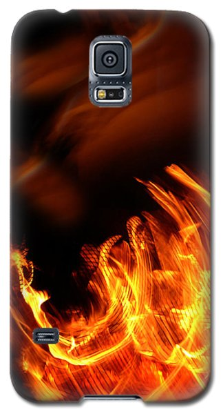 Heavenly Flame Galaxy S5 Case by Donna Blackhall