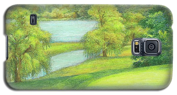 Heavenly Golf Day Landscape Galaxy S5 Case