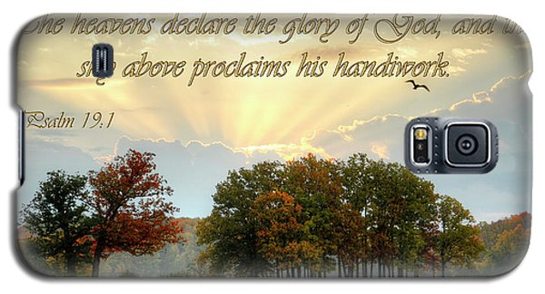 Galaxy S5 Case featuring the photograph Heavenly Morning by Ann Bridges