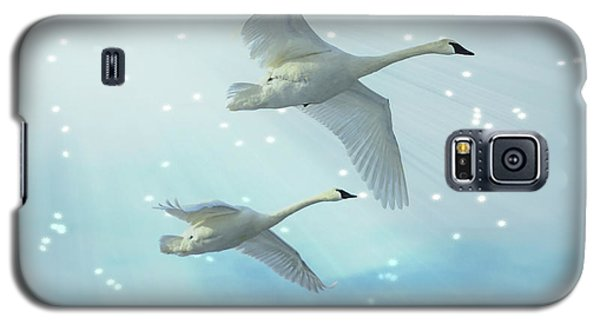 Heavenly Swan Flight Galaxy S5 Case