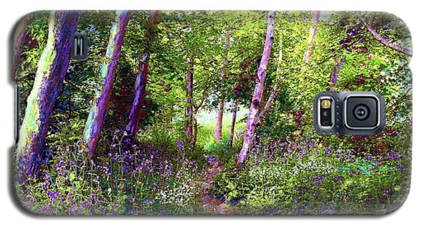 Heavenly Walk Among Birch And Aspen Galaxy S5 Case by Jane Small
