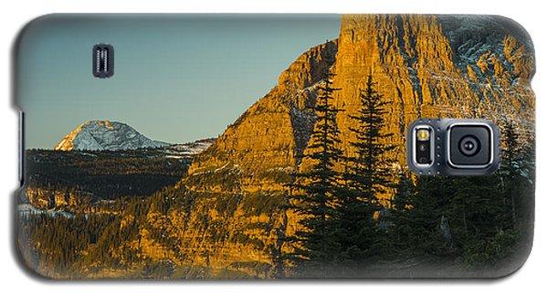 Heavy Runner Mountain Galaxy S5 Case by Gary Lengyel