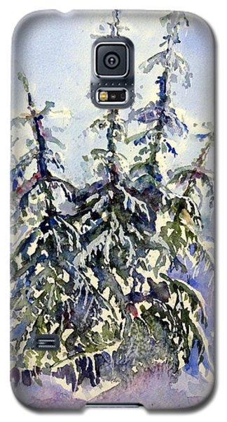 Heavy Snow In The Cascades Galaxy S5 Case