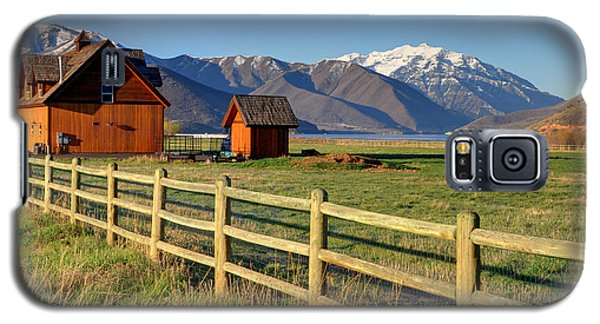 Heber Valley Ranch House - Wasatch Mountains Galaxy S5 Case