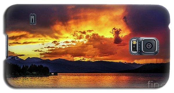 Hebgen Lake Sunset Galaxy S5 Case