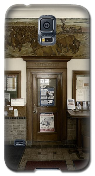 Hebron Nebraska Post Office Mural Galaxy S5 Case