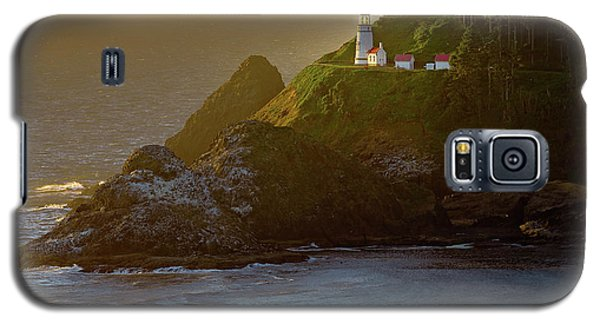 Heceta Head Lighthouse At Sunset Galaxy S5 Case