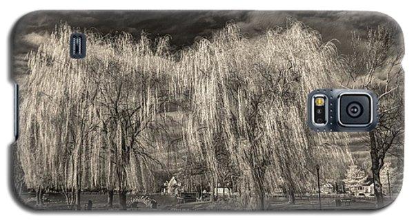Heckscher Pond Long Island Galaxy S5 Case