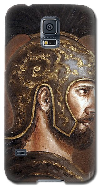 Galaxy S5 Case featuring the painting Hector by Arturas Slapsys