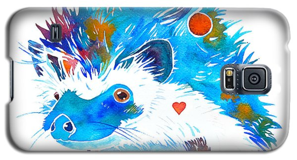 Hedgehog With Heart Galaxy S5 Case