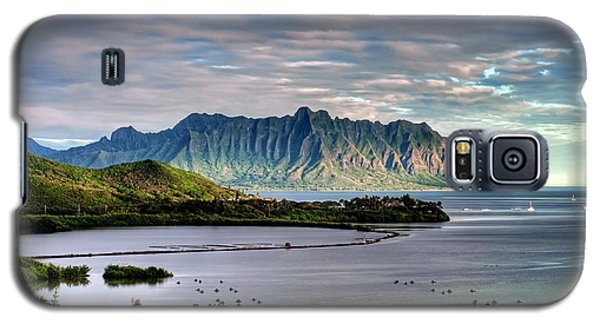 He'eia Fish Pond And Kualoa Galaxy S5 Case