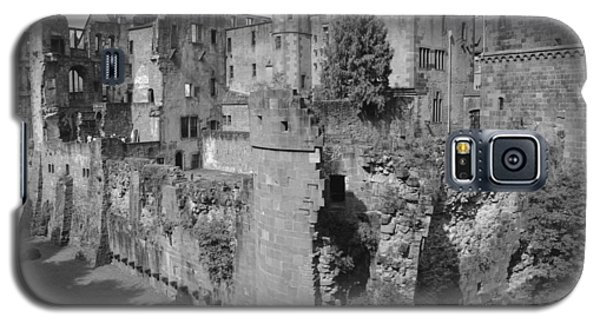 Galaxy S5 Case featuring the photograph Heidelberg Castle Behind The Scenes by Corinne Rhode