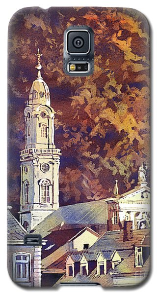 Galaxy S5 Case featuring the painting Heidelberg Evening by Ryan Fox