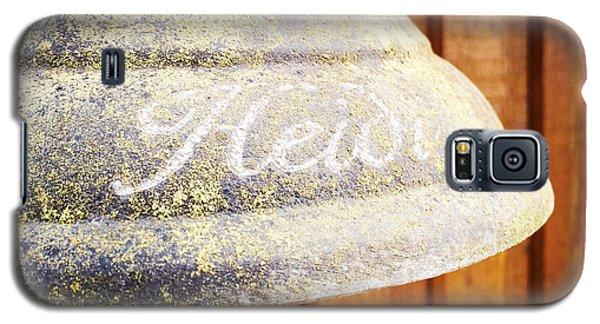Detail Galaxy S5 Case - Heidi Bell by Matthias Hauser